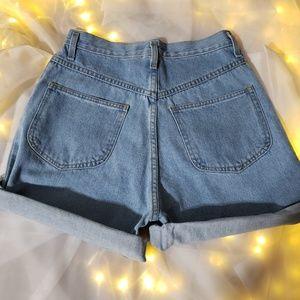 chazz Shorts - High waisted denim chazz shorts size 11